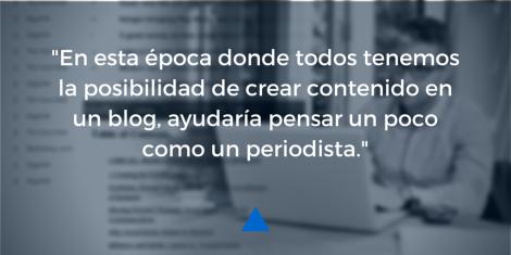 Blogs periodismo