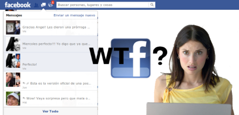 Noticia Falsa Mensajes facebook