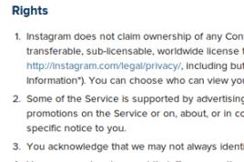 Contenido en Redes Sociales- Licencias y Propiedad