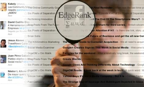 Curación de Enlaces Vol 64 Evolución Social de Twitter Curación vs Algoritmos y el Lado Negro de Edgerank