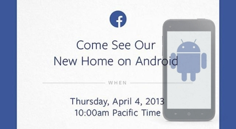 Facebook Android New Home