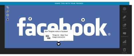 Facebook Thinglink