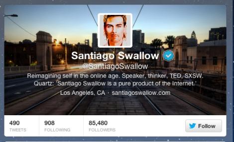 Santiago Swallow twitter