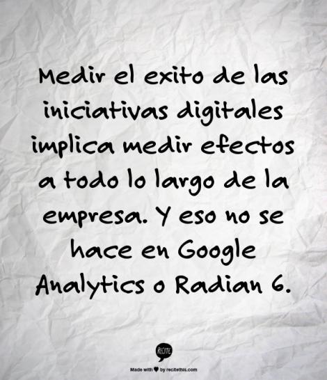 herramienta de metricas más importante en una campaña digital