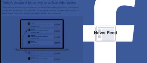 Cambios al Newsfeed de Facebook Adios al Algoritmo previamente conocido como EdgeRank