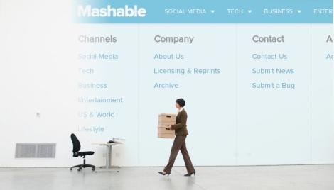 Nada fracasa como el éxito Adios Mashable