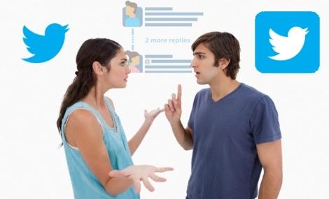 Conversación antes que Enlaces Estamos viendo un nuevo Twitter