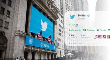 Año cero Twitter sale a la bolsa