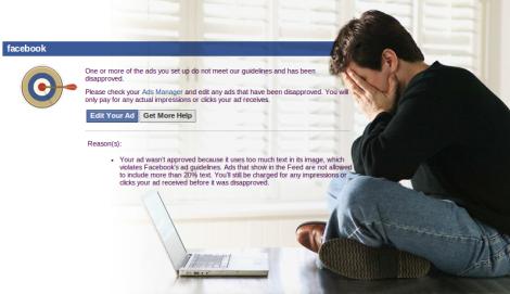 Como Verificar el Texto de tus Imagenes Publicitarias en Facebook
