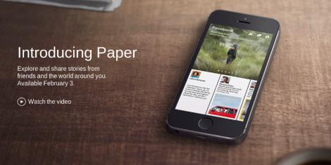 Paper El Periodico Reinventado por Facebook