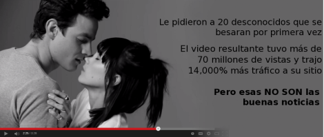 La Unica Estadística Importante Sobre el Video First Kiss No no son las vistas