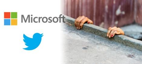 Twitter y Microsoft La Lucha por la Supervivencia