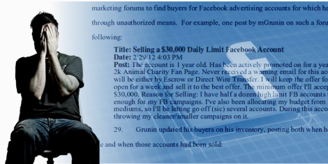 Cuando la Casa Pierde Facebook sufre una estafa de 340 mil dolares