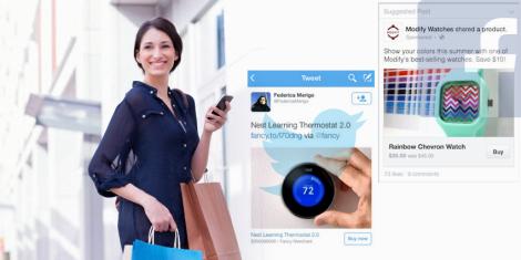 La Nueva Ola del eCommerce Facebook y Twitter