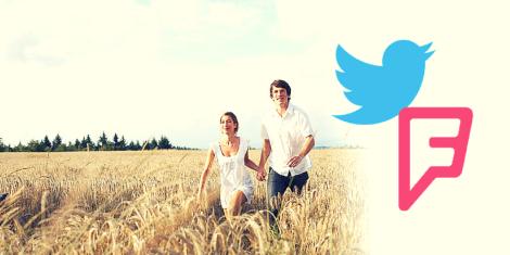 En un mundo perfecto Foursquare sería comprado por Twitter