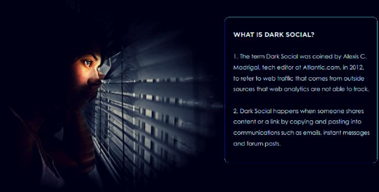 Dark Social la actividad social que no podemos ver