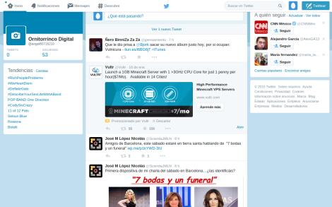 Twitter y su Inhospita Bienvenida a los Nuevos Usuarios 3