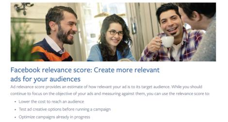 Explicación del Relevance Score