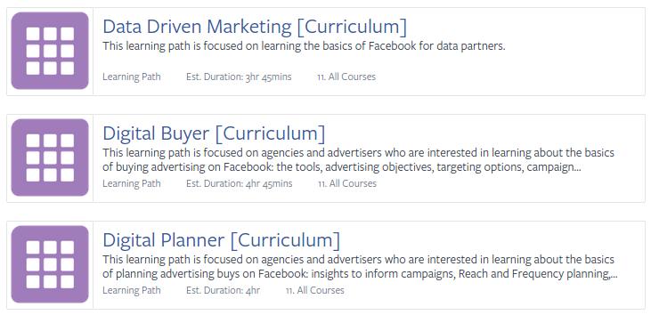 Facebook blueprint la capacitacin y certificacin oficial de facebook blueprint malvernweather Choice Image