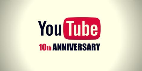 Decimo aniversario 10 de YouTube