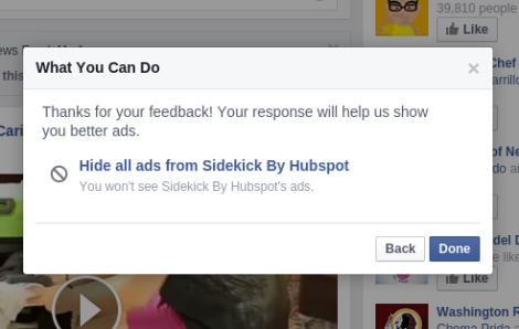 Bloquear publicidad politica Facebook razones 3