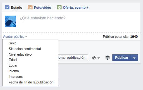Publicaciones oscuras Facebook 1