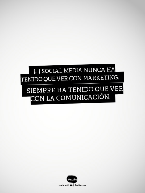 El marketing en social media esta muerto