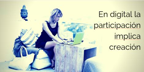 Participación digital y La Escala de la Creación