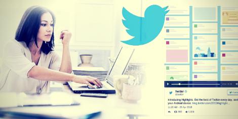 Twitter Búsqueda Curación y Algoritmo