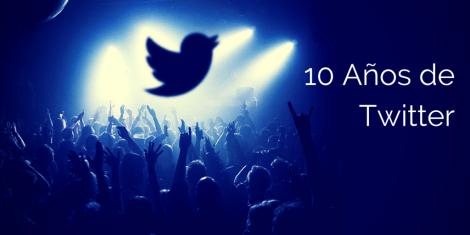 Twitter 10 Años de Cambiar los Medios Sociales
