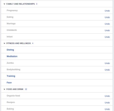 perfil de facebook intereses 3