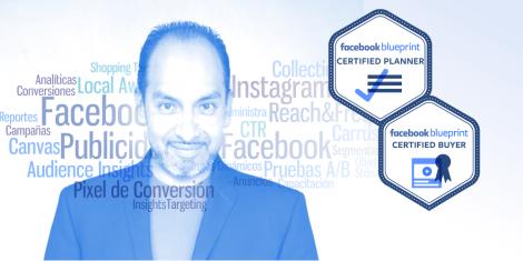 Angel Buendia, consultor certificado por Facebook