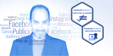 Angel Buendia, consultor certificado por Facebook